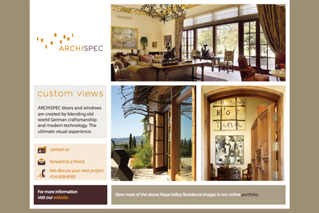 archispec e-newsletter july 2010