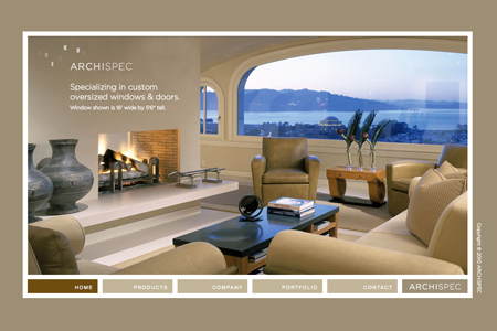 archispec website