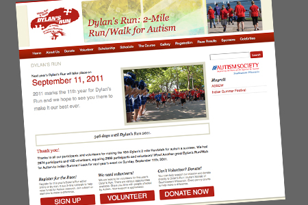 dylan's run website