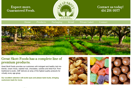 great skott foods website