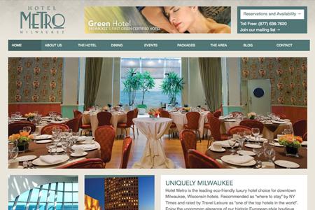 hotel metro website