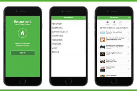 Spark: Sales Enablement App