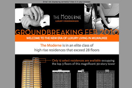 the moderne e-newsletter