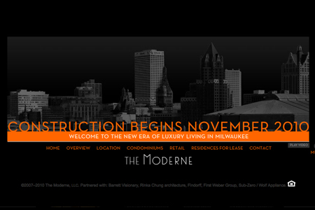 the moderne website