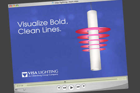 visa lighting animation